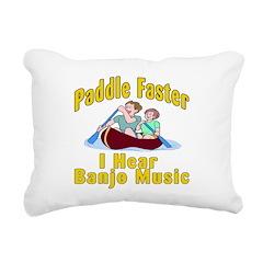 Paddle Faster I hear Banjos Rectangular Canvas Pil