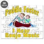 Paddle Faster I hear Banjos Puzzle