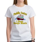 Paddle Faster I hear Banjos Women's T-Shirt