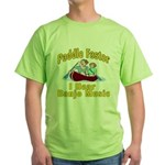 Paddle Faster I hear Banjos Green T-Shirt