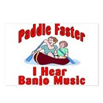 Paddle Faster Postcards (Package of 8)