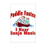 Paddle Faster Mini Poster Print