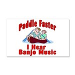 Paddle Faster Car Magnet 20 x 12