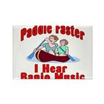 Paddle Faster Rectangle Magnet (10 pack)