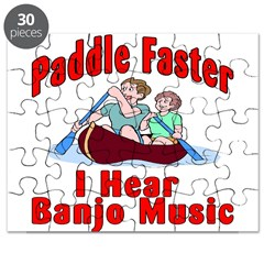 Paddle Faster Puzzle