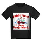Paddle Faster Kids Dark T-Shirt