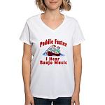 Paddle Faster Women's V-Neck T-Shirt