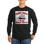 Paddle Faster Long Sleeve Dark T-Shirt