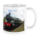 Railway train Photography. Vintage steam engine. M