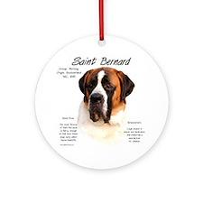 Saint (Smooth) Ornament (Round)
