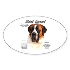 Saint (Smooth) Oval Decal