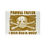 Paddle Faster Hear Banjos Rectangle Magnet