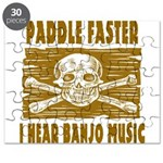 Paddle Faster Hear Banjos Puzzle
