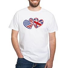 Patriotic Peace Sign and USA Flag Shirt