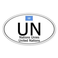 UN National Code Decal