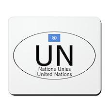 UN National Code Mousepad
