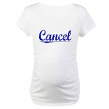 Cancel, Blue, Aged Shirt