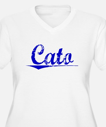 Cato, Blue, Aged T-Shirt