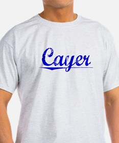 Cayer, Blue, Aged T-Shirt