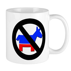 Anti Democrat (Pro Republican) Mug