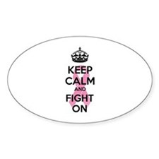 Keep calm and fight on Decal
