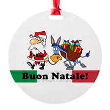 Santa Walking Dominick Ornament