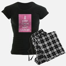 Keep calm and beat cancer Pajamas