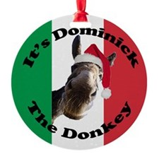 Its Dominick! (round) Ornament