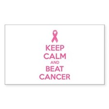 Keep calm and beat cancer Decal