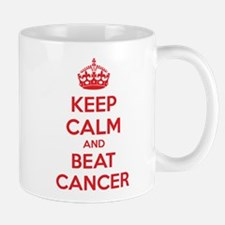 Keep calm and beat cancer Mug