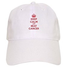 Keep calm and beat cancer Baseball Cap