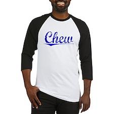 Chew, Blue, Aged Baseball Jersey