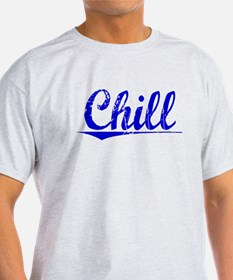 Chill, Blue, Aged T-Shirt
