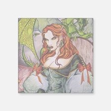 "Elven Royalty Square Sticker 3"" x 3"""