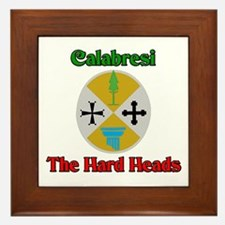 Calabresi The Hard Heads Framed Tile