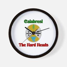 Calabresi The Hard Heads Wall Clock