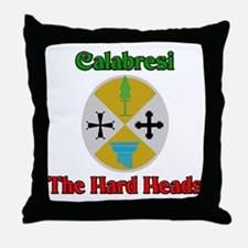 Calabresi The Hard Heads Throw Pillow