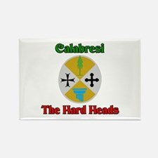 Calabresi The Hard Heads Rectangle Magnet