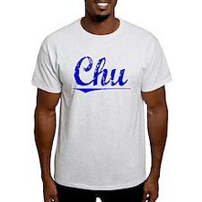 Chu, Blue, Aged T-Shirt