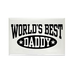 World's Best Daddy Rectangle Magnet