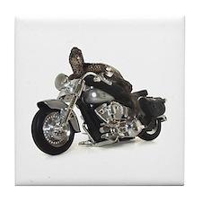 Biker Turtle Tile