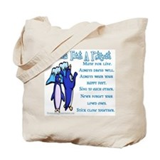 Lessons from a penguin Tote Bag