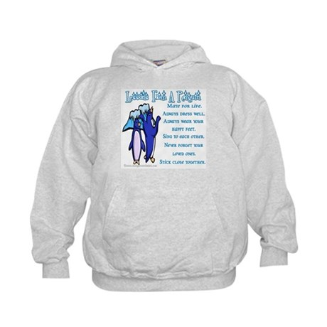 Lessons from a penguin Kids Hoodie
