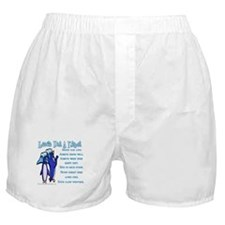 Lessons from a penguin Boxer Shorts