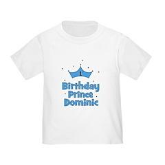 1st Birthday Prince DOMINIC! T