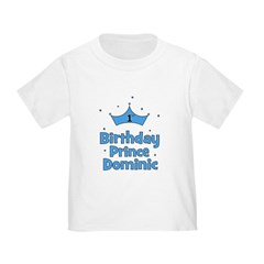 1st Birthday Prince DOMINIC! T