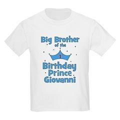 Big Brother of 1st Birthday Prince GIOVANNI T-Shirt