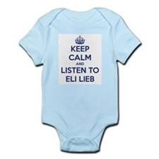 'KEEP CALM AND LISTEN TO ELI LIEB' t-shirt Infant