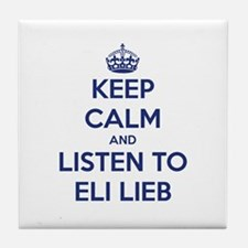 'KEEP CALM AND LISTEN TO ELI LIEB' t-shirt Tile Co