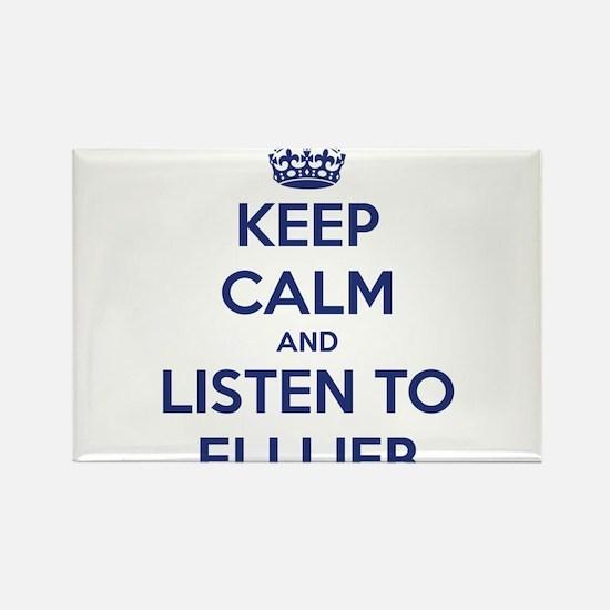 'KEEP CALM AND LISTEN TO ELI LIEB' t-shirt Rectang